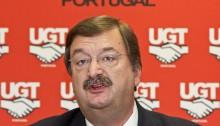 Lisboa , 24/05/2013 Conferência de imprensa do secretário geral da União Geral de Trabalhadores (UGT) Carlos Silva.  ( Vítor Rios / Global Imagens )
